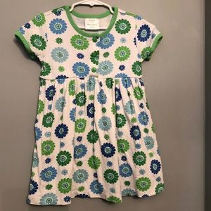 Hanna Andersson flower Dress 4T